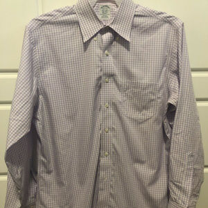 Brooks Brothers Classic Fit Button Up 16&1/2 - 34